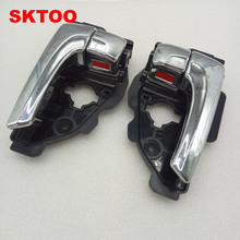 SKTOO 2pcs Door handle for Hyundai IX35 inside door / original handles free shipping