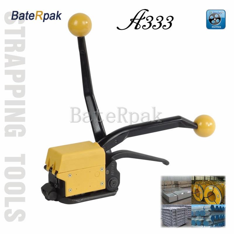 A333 BateRpak Legatrice per cinturino in acciaio, fibbia libera per reggette in acciaio di alta qualità, completo per cinturino in acciaio 13-19mm
