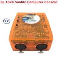 2 xlot классический Virtual DJ контроллер dmx санлайт 1024 USB Универсальная последовательная шина с интеллектуального программного обеспечения для П...