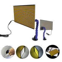 WHDZ Hot PDR Tools Paintless Dent Repair Tools Dent Removal Led Lamp Reflector Board Light Line Board Reflecion Boardferramentas