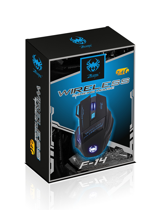 Image 5 - Wireless gaming mouse 2.4G 2400dpi optical mouse 7 Buttons Gaming Breathing LED Backlit Gaming Mice for DOTA CS PUBG-in Mice from Computer & Office