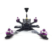 HGLRC Batman220 220mm Airbus F4 OSD FPV Racing Drone w/ 60A BL_32 ESC Frsky XM+ Receiver RX BNF Brushless Motor RC Multi Rotor