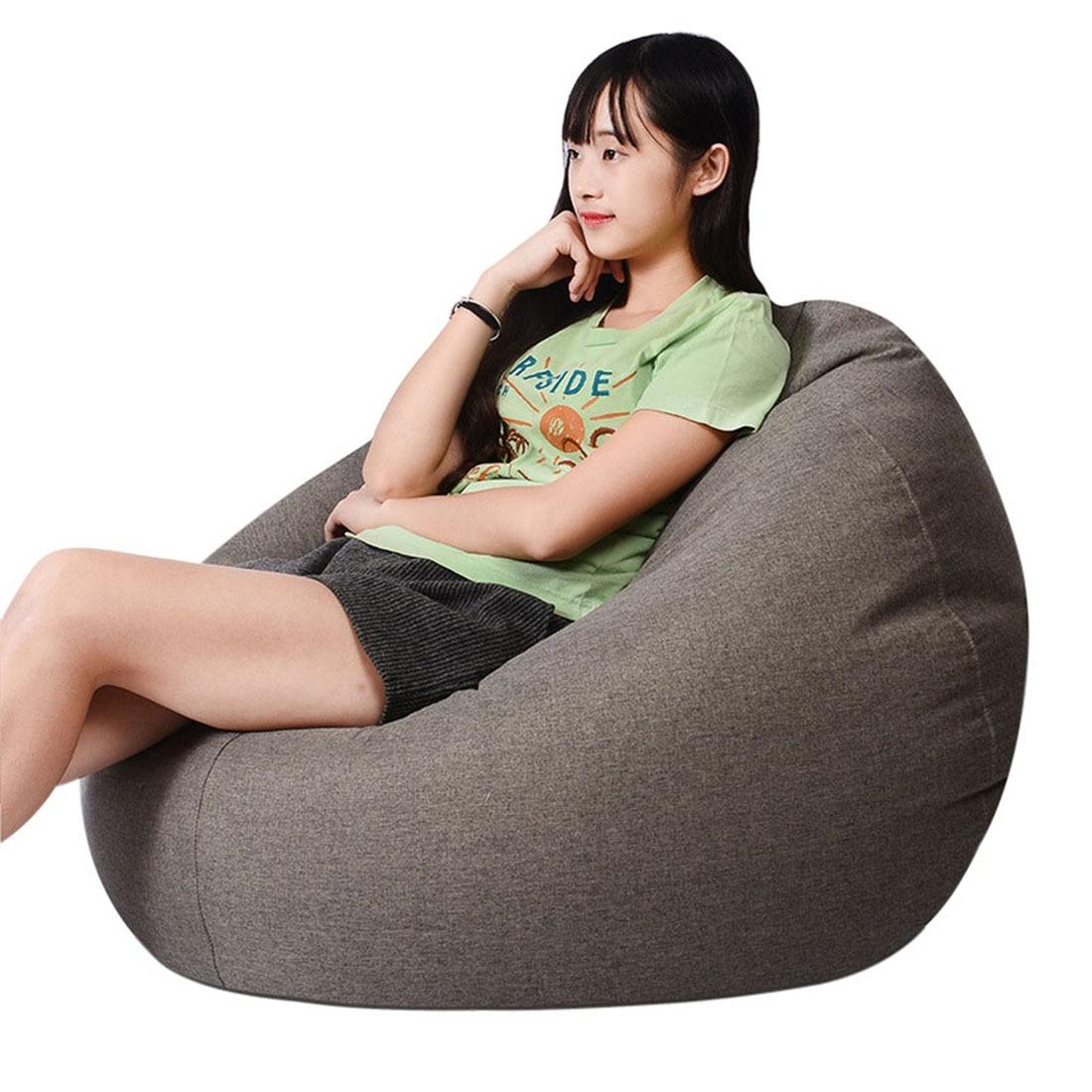 Admirable Volwassenen Kinderen Bean Bag Stoel Sofa Woonkamer Lounger Creativecarmelina Interior Chair Design Creativecarmelinacom