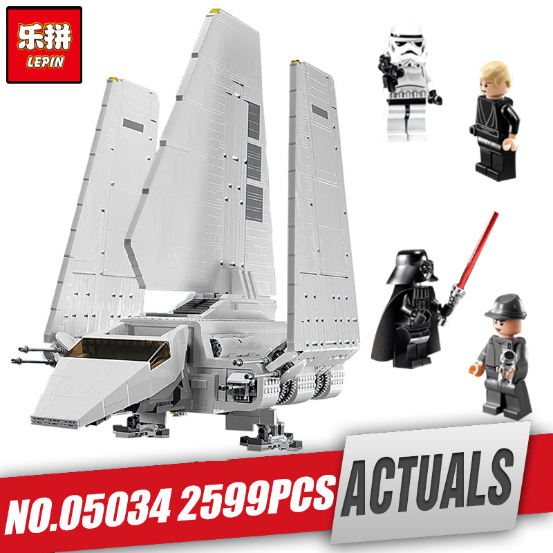 LEPIN 05034 Star Series Wars The Shuttle Educational Building Assembled Blocks Bricks Toy Compatible with legoing 10212 as gifts