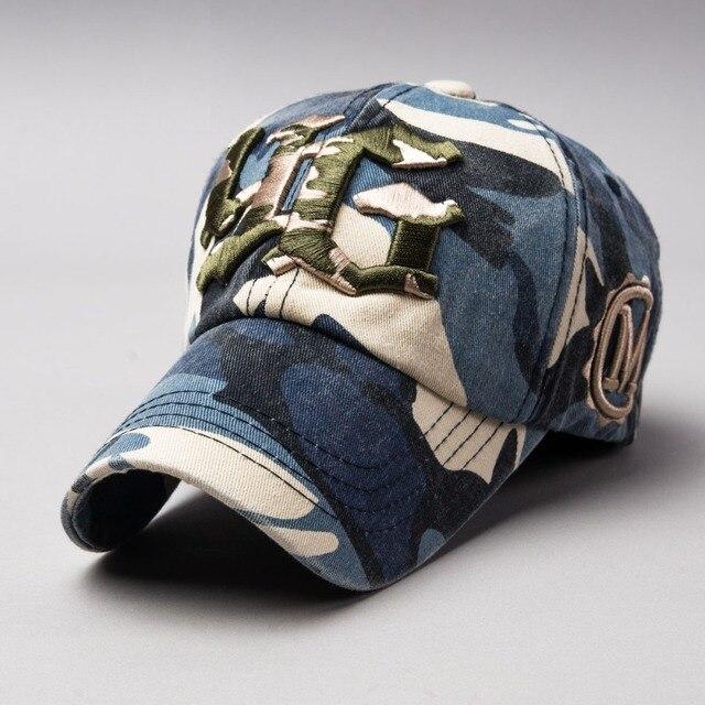 2016 Новая Армия Камуфляж Бейсболки Женщины и Мужчины Летом OutdoorYG 3d embroidery hat Высочайшее Качество Хлопок Остроконечные Шляпы От Солнца,
