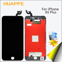 HUAPPE 5.5 inch No Dead Pixel High Quality LCD For iPhone 6S Plus Display Touch Screen Replacement Kit With 3D Touch Black White