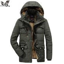 XIYOUNIAO PLUSขนาดL ~ 7XL 8XLฤดูหนาวParkaเสื้อแจ็คเก็ตบุรุษแจ็คเก็ตชายหนาผ้าฝ้ายเบาะwindbreaker Warm 30 องศาSnow Overcoat