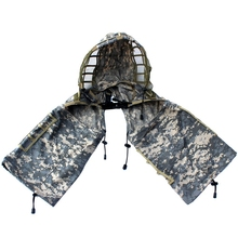 TOP!-Sniper Ghillie Suit Foundation, Ripstop, Camouflage Tactical Hood