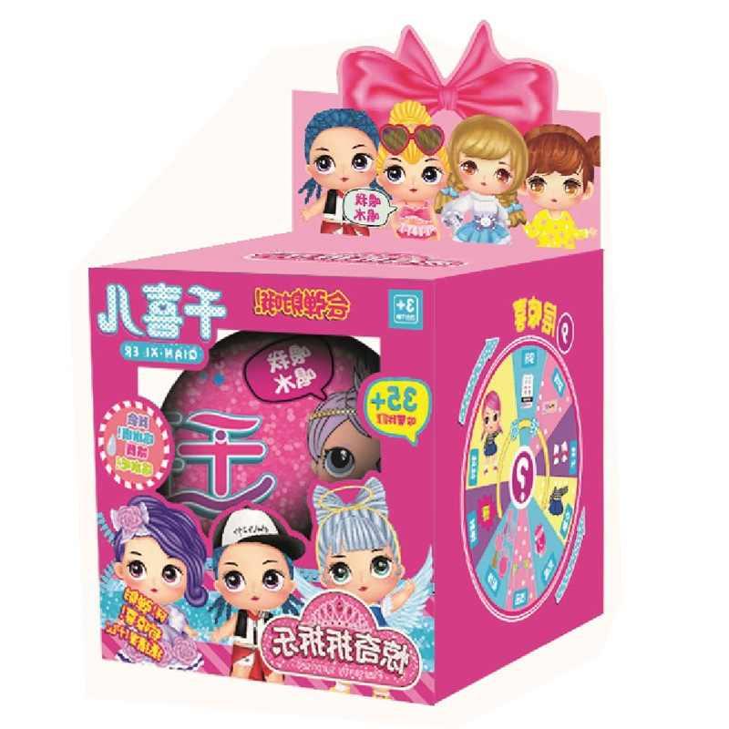 11 cm lol dos desenhos animados boneca lols boneca original bola confetes pop brinquedos lols bola figura de ação brinquedo boneca original lol boneca diy