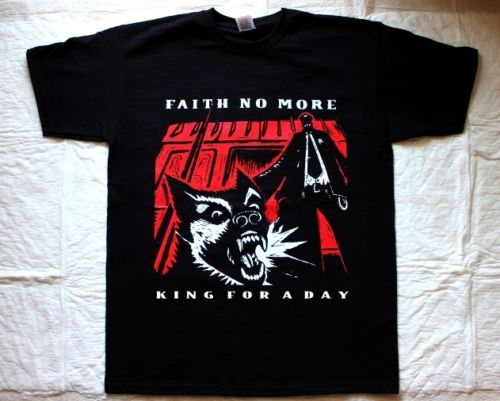 Faith No More King For A Day95 Mike Patton Mr Bungle Fantomas New Black T ShirtmenS Shir ...