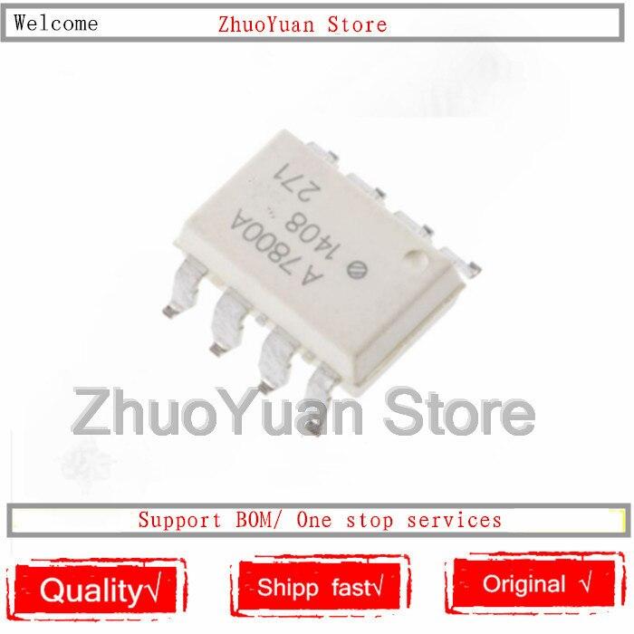 1PCS/lot New Original HCPL-7800A A7800A SOP8 HCPL7800A IC Chip