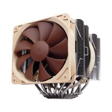 MARSWALLED Excellent Copper & Aluminum Heatpipe Dual Radiator Cooling Heatsink for 200W COB LED or DIY CPU Cooler/VGA Card