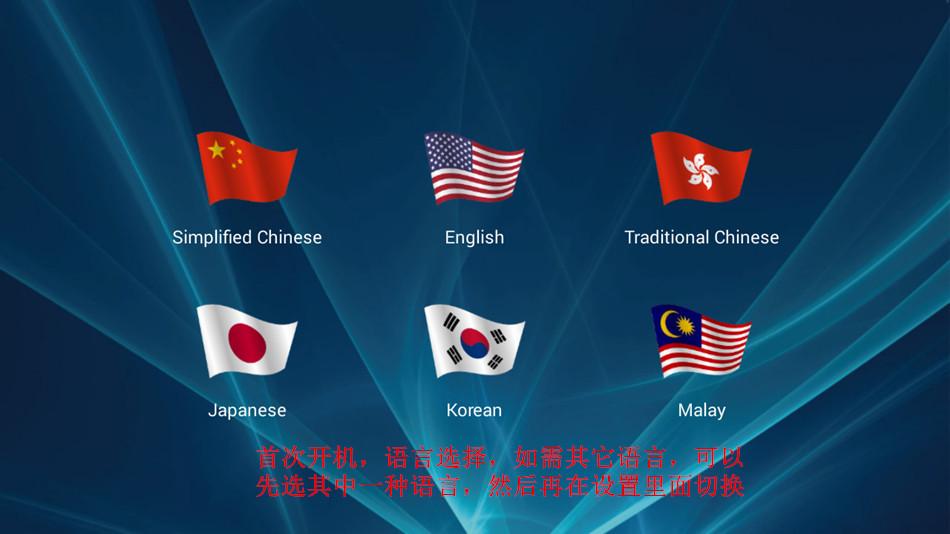 2018 NOVA EVPAD PRO + Android TV BOX Coreano Japão CN HK TW