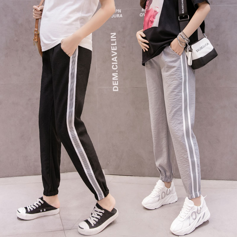 1183# Summer Thin Breathable Maternity Casual Pants Sports Jogger Pants for Pregnant Women Adjustbale Belly Pregnancy Trousers1183# Summer Thin Breathable Maternity Casual Pants Sports Jogger Pants for Pregnant Women Adjustbale Belly Pregnancy Trousers
