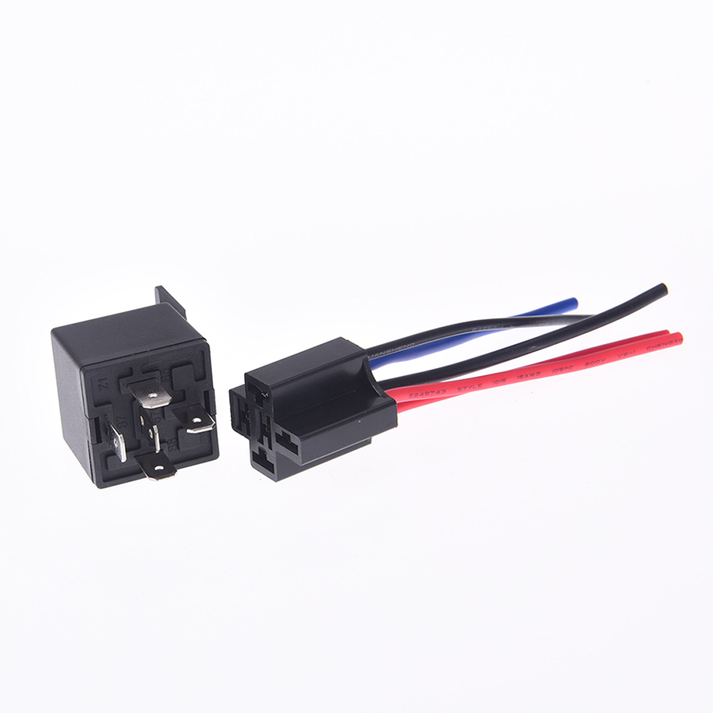 horn alarms headlight ect 5 x 4 Pin 12v 40A Car Truck Relays For Aux control
