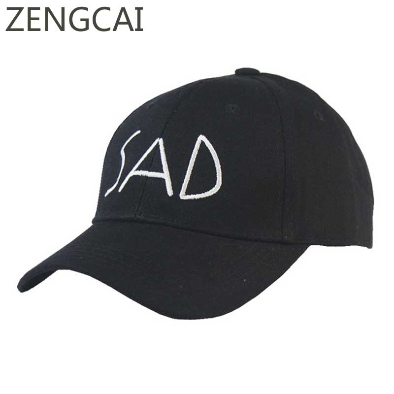 SAD Polo Caps Men Sport Black Trucker Hat Snapback Baseball Cap Women Hip Hop Summer Casual Letter Embrodery Golf Hats Wholesale 100% cotton baseball cap men sport hats polo hat women snapback gorras hombre hats casual hip hop caps dad casquette