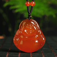 New Arrival Natural laugh Buddha Pendant Lucky Pendant