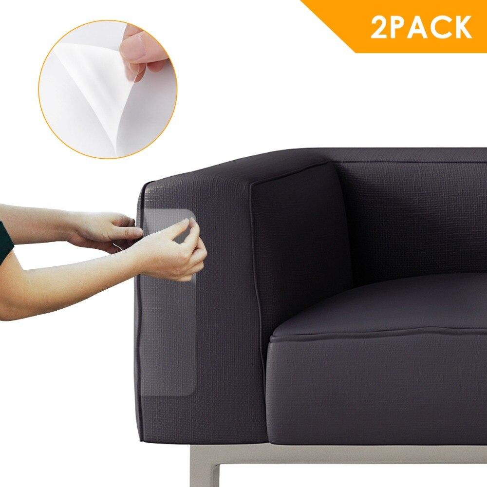 47x15 Cm 2 Stks/partij Zelfklevende Couch Scratch Guard Meubels Sofa Claw Protector Sticker Pads Voor Leer Stoelen Cover Producten Worden Zonder Beperkingen Verkocht
