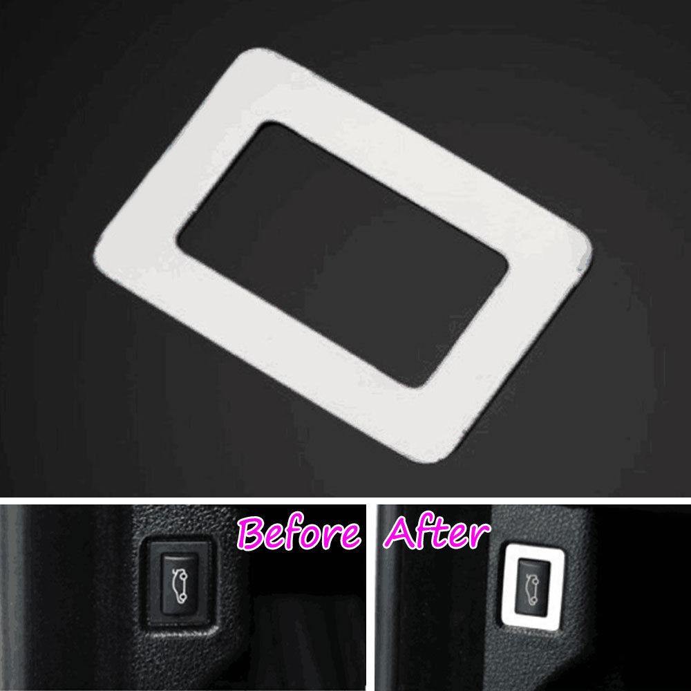 Fit For BMW 7 Series F01 F02 2009-2015 Steel Tail Door Trunk Switch Trim Frame