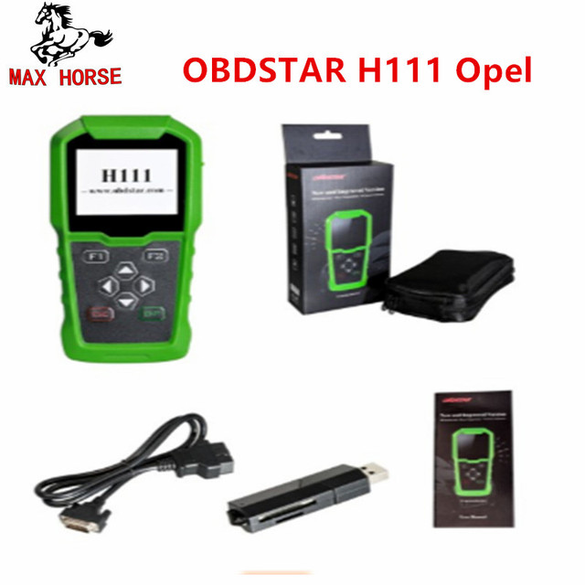 OBDSTAR H111 For Opel Auto Key Programmer & Cluster Calibration via OBD Extract PIN CODE from BCM for OPEL Key Programmer