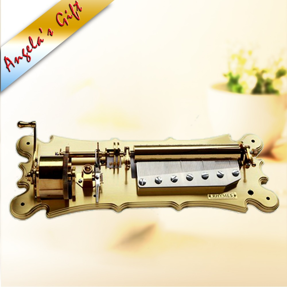 78 notes luxury music box mechanism, musical movements with 5 - Home Decor