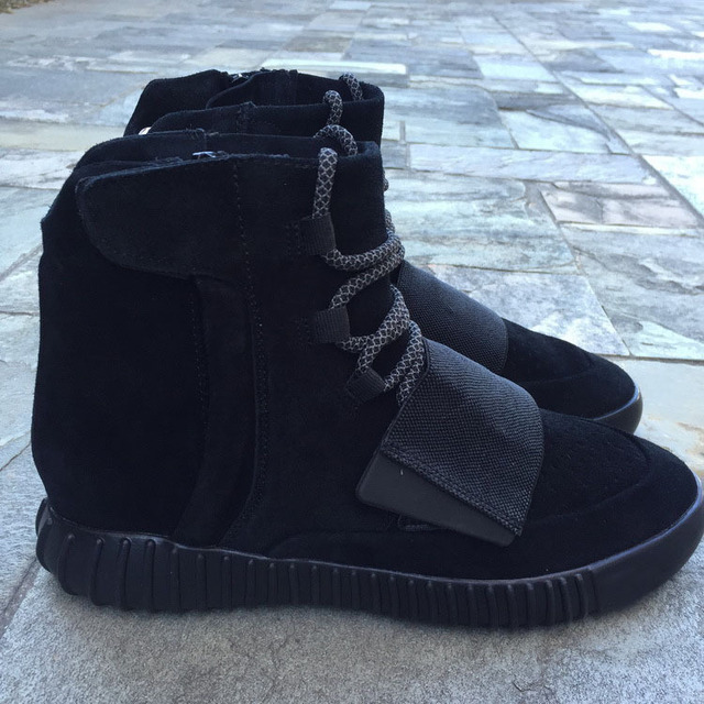 Final Version Yeezy 750 Blackout Kanye West Boost With Extra Laces And  Dustbag Men Women YZY Via EMS Shipping Send Originals Box b71f8e7f7e