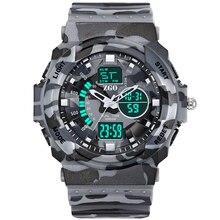 0cc070ee98d Zgo Relógio Militar Relógio Do Esporte Dos Homens À Prova D  Água Para Mens  Relógios