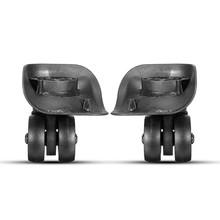 AEQUEEN 1 para wymiana koła bagażowe gumowe walizki akcesoria części naprawa wózek podróży bagażu lewy i prawy koła tanie tanio SKU481488 283g Rubber+Nylon Luggage Wheel Replacement Rubber Suitcase Wheel Luggage Accessories Parts