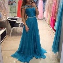 Prom Dresses RF05041 2016 New Arrival Women Cap Sleeves Pretty Long Beautiful Evening Party Dresses vestido de festa