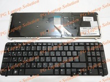 Rusa del teclado para hp pavilion dv6 dv6t dv6-1000 dv6-1200 dv6t-1000-1100-dv6t dv6t dv6-2000 ru negro teclado del ordenador portátil