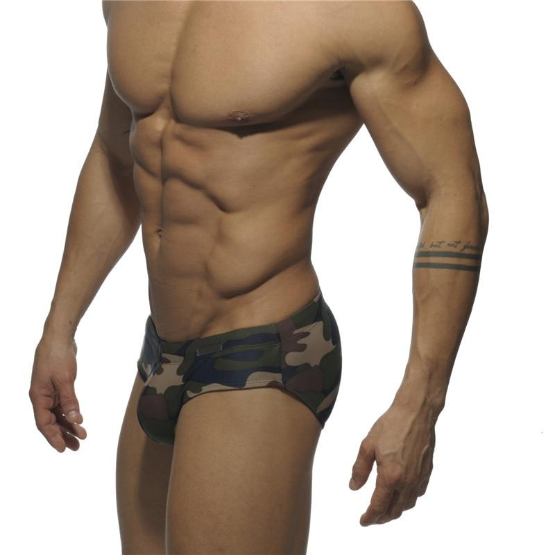Мужские камуфляжные плавки с акулой, купальный костюм пропилена XXL, мужские плавки, трусы Natacion, мужские шорты, купальный костюм для мужчин 19