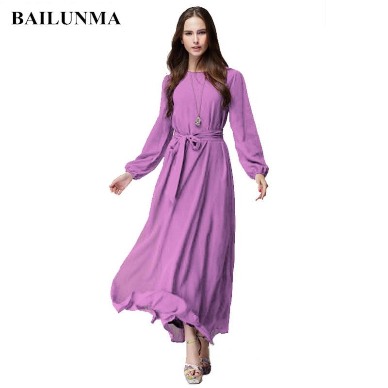 US $11.26 19% OFF Chiffon dress plus size green dress maxi dresses for  women sukienka letnia robe longue boheme Purple robe femme-in Islamic  Clothing ...