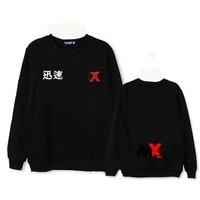 HPEIYPEI KPOP MONSTA X Album Fleece Hoodie K POP Casual Cotton Hoodies Clothes Pullover Printed Long Sleeve Sweatshirts WY369