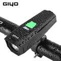 Giyo T6 светодиодный велосипедный фонарь  450Lm Передний фонарь для велосипеда  USB зарядка  горный велосипед  руль  латерн  фара безопасности доро...
