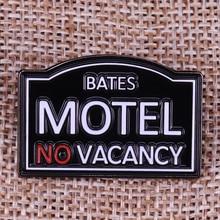 Bates Motel horror Movie Prop Pin Badge Alfred Hitchcock fan gift film lover Brooch