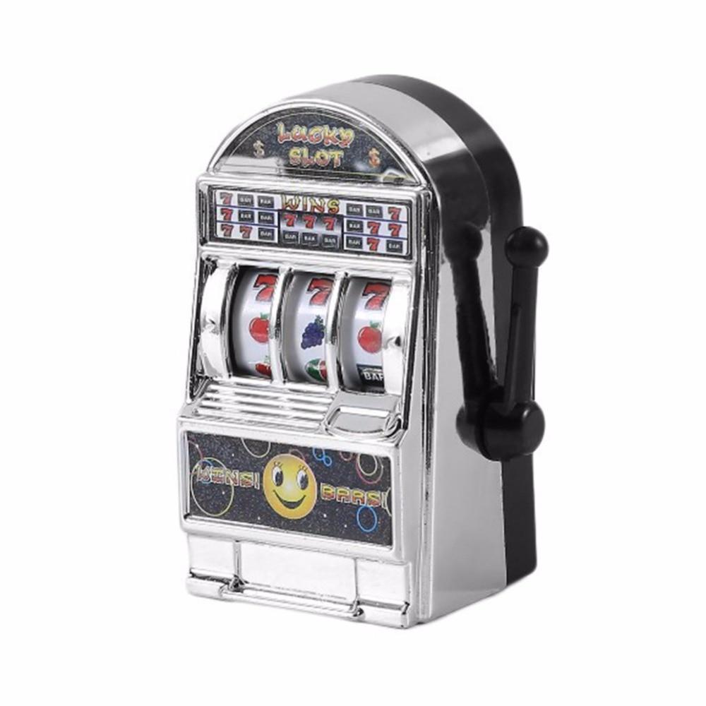 Novelty Creative MINI Slot Machine Toy Simulated Decompressing Toys ...