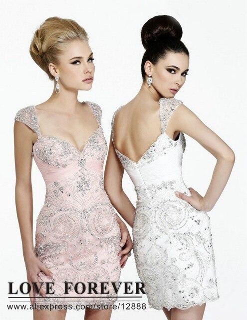 White Short Formal Dresses Juniors