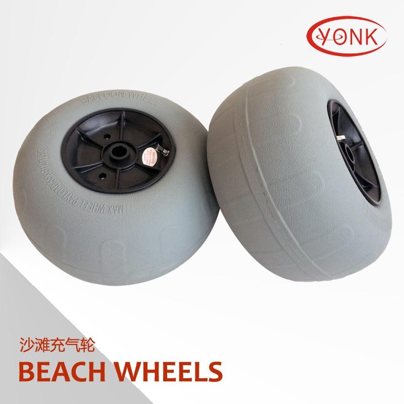 12 Quot Inch Pneumatic Pu Tyre Ballon Kayak Cart Trolley Beach