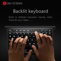 Ips touch экран планшетный ПК Intel Atom x5 Z8350 один нетбук карманный ноутбук 8G RAM 128 г клавиатура с подсветкой type г c 5 г wifi Bluetooth