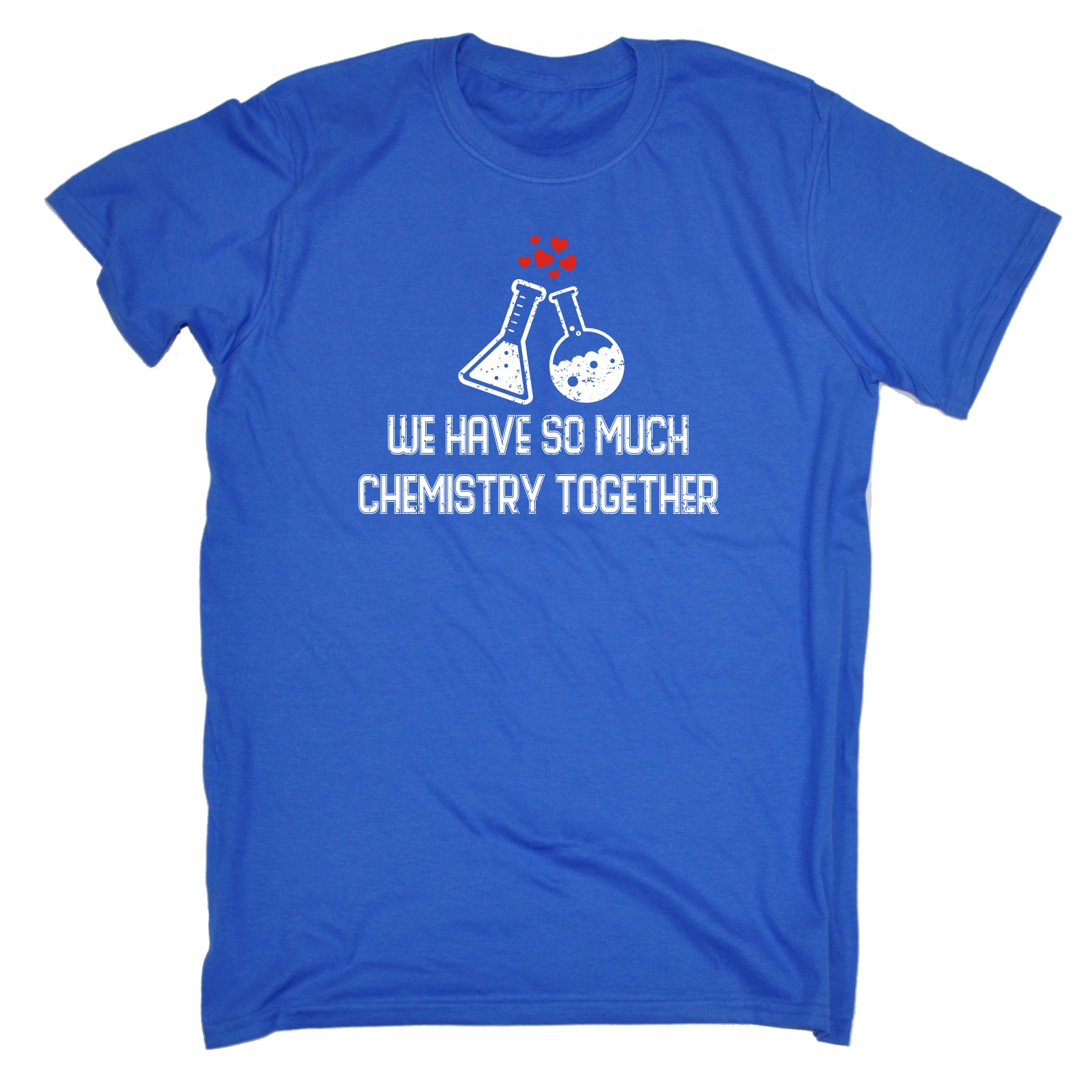 WE HAVE SO MUCH CHEMISTRY TOGETHER T SHIRT Geek Boyfriend Funny Birthday Gift In Shirts From Mens Clothing On Aliexpress