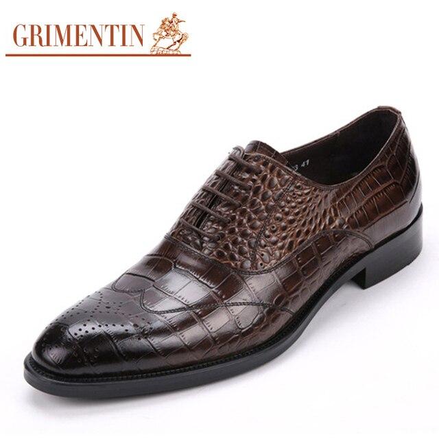 Aliexpress.com : Buy GRIMENTIN alligator fashion Italian Mens ...