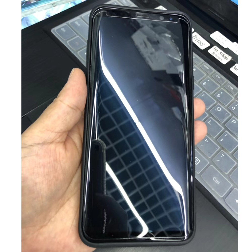 US $6 31 39% OFF|Nano Liquid Screen Protector For Samsung S9 S9+ Note8 Nano  High Tech Invisible Screen Protector 3D Full Curved Tempered Glass-in