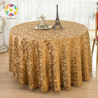 FANCAI Big Size Round Tablecloth Wedding Party Banquet Coffee Table Kitchen Table Cover