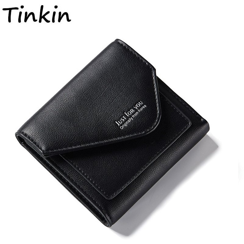 Short Wallet Purse Card-Holder Money-Bag Pocket Fashion Women Unisex Letter Photos And