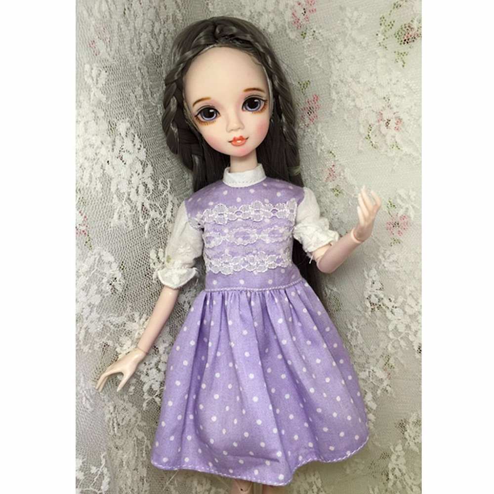12 Doll Blyth Point Bjd Clothes Dress 1/6 Doll Wave Purple handsome grey woolen coat belt for bjd 1 3 sd10 sd13 sd17 uncle ssdf sd luts dod dz as doll clothes cmb107