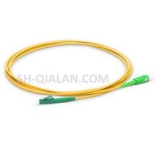 Cordon de raccordement Fiber optique 1m LC SC APC cordon de raccordement Fiber G657 Simplex 2.0mm câble de raccordement PVC SM câble à Fiber optique insensible