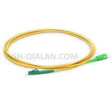 Włókna światłowodowe Patchcord 1m LC SC APC włókien kabla Patch G657 Simplex 2.0mm kabel jumper pcv SM z włókna optycznego kabel odporne na zginanie
