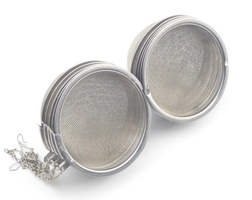 10 Pieces Lot 3 Inch Diameter Stainless Steel Tea Infuser