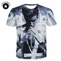 2017 new summer women/Men Justin Bieber 3D T Shirt Cool Singer character T shirt hip hop brand clothes casual short sleeve tops