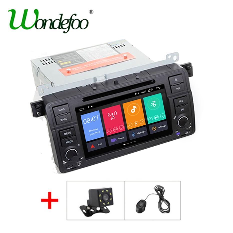 IPS Android 8.1 car dvd multimedia player for BMW M3 E46 Rover 75 MG ZT car radio AUDIO stereo GPS navigation 2G RAM quad core